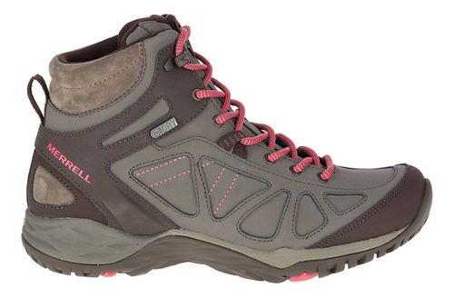 Womens Merrell Siren Q2 Mid Waterproof Hiking Shoe - Boulder 10