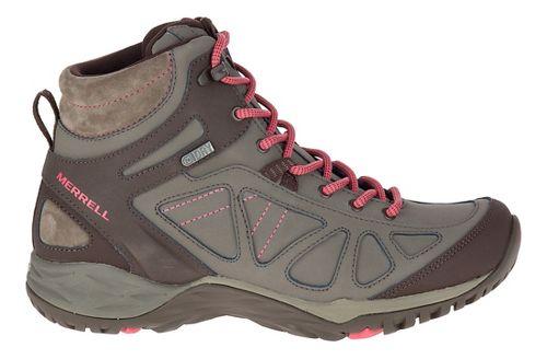 Womens Merrell Siren Q2 Mid Waterproof Hiking Shoe - Boulder 10.5