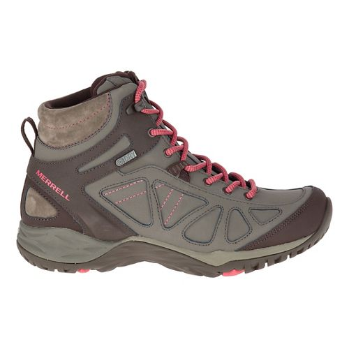 Womens Merrell Siren Q2 Mid Waterproof Hiking Shoe - Boulder 9.5