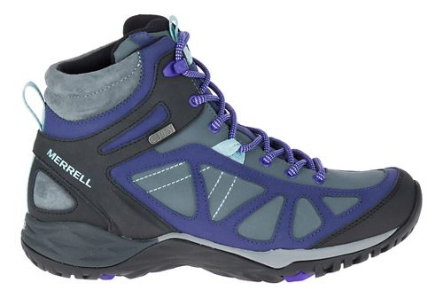 Womens Merrell Siren Q2 Mid Waterproof Hiking Shoe - Turbulence 6.5