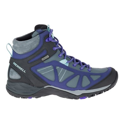Womens Merrell Siren Q2 Mid Waterproof Hiking Shoe - Turbulence 7