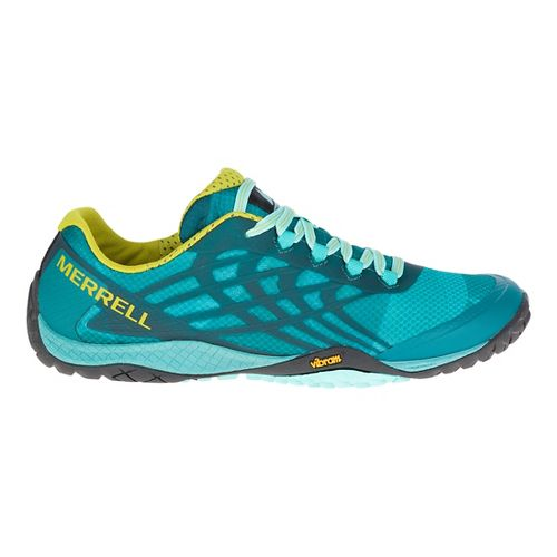 Womens Merrell Trail Glove 4 Trail Running Shoe - Baltic 8