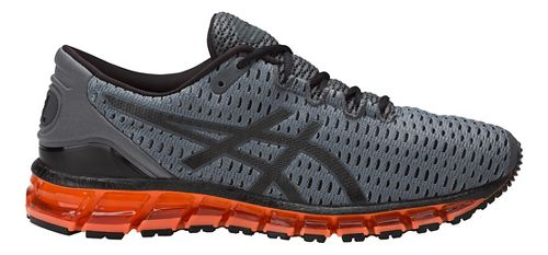 Mens ASICS GEL-Quantum 360 Shift Running Shoe - Carbon/Orange 8.5