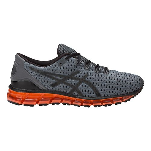 Mens ASICS GEL-Quantum 360 Shift Running Shoe - Carbon/Orange 11.5