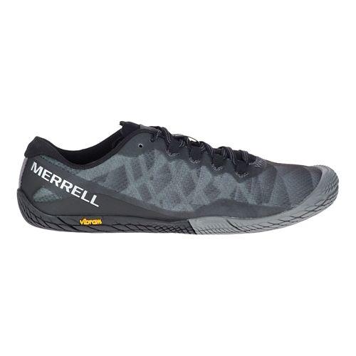Womens Merrell Vapor Glove 3 Trail Running Shoe - Black/Silver 5.5