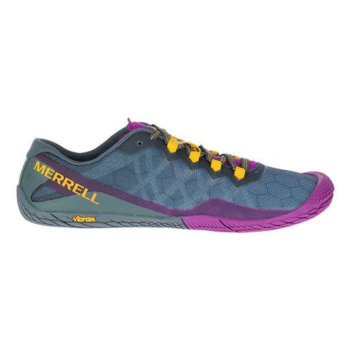 Womens Merrell Vapor Glove 3 Trail Running Shoe - Turbulence 5