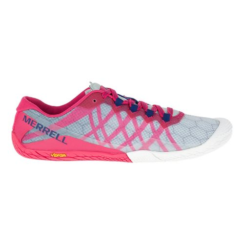 Womens Merrell Vapor Glove 3 Trail Running Shoe - Azalea 10