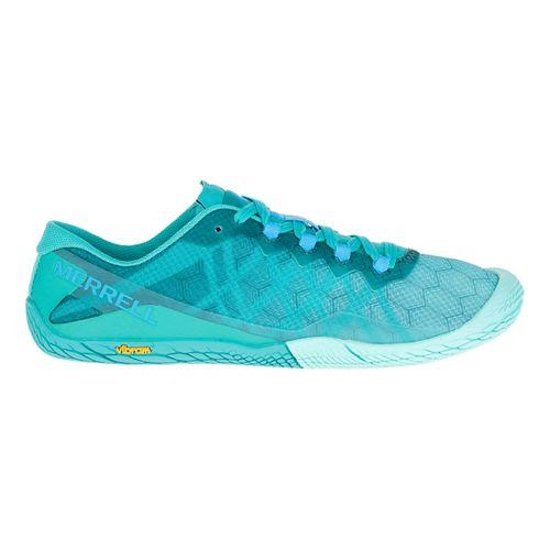 Womens Merrell Vapor Glove 3 Trail Running Shoe - Baltic 7