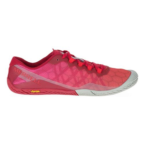 Womens Merrell Vapor Glove 3 Trail Running Shoe - Chili 7