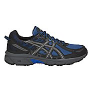 Mens ASICS GEL-Venture 6 Trail Running Shoe - Blue/Black 7.5