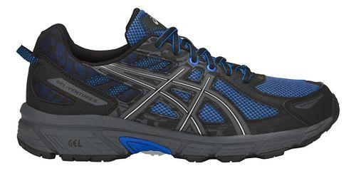 Mens ASICS GEL-Venture 6 Trail Running Shoe - Blue/Black 12