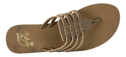 Womens Cobian Aloha Sandals Shoe - Chocolate 6