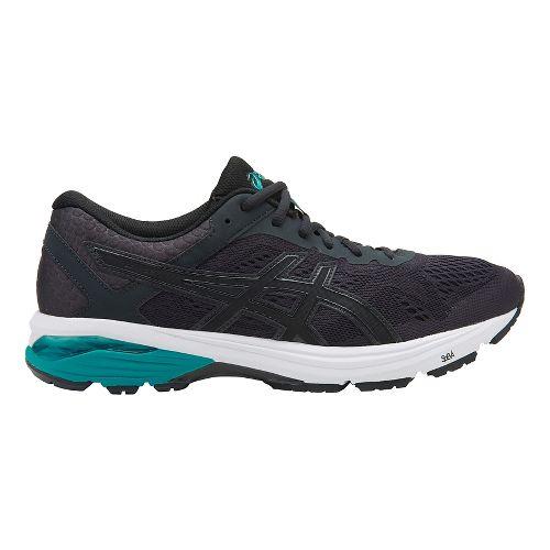 Mens ASICS GT-1000 6 Running Shoe - Black/Teal 9