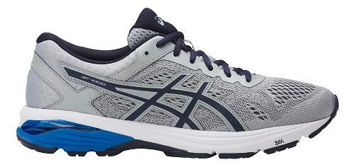 Mens ASICS GT-1000 6 Running Shoe - Grey/Blue 11.5