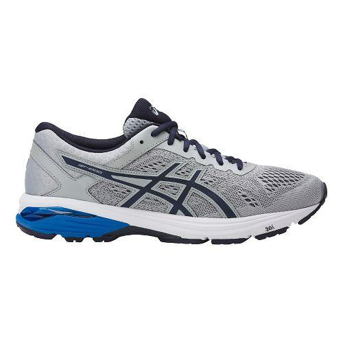 Mens ASICS GT-1000 6 Running Shoe - Black/Black 7