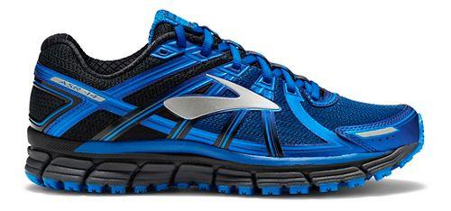 Mens Brooks Adrenaline ASR 14 Trail Running Shoe - Black/Blue 10.5
