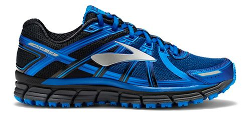Mens Brooks Adrenaline ASR 14 Trail Running Shoe - Black/Blue 12.5