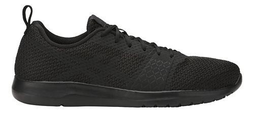 Mens ASICS Kanmei Casual Shoe - Black/Black 8