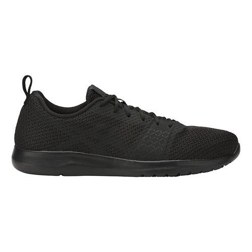 Mens ASICS Kanmei Casual Shoe - Black/Black 8.5