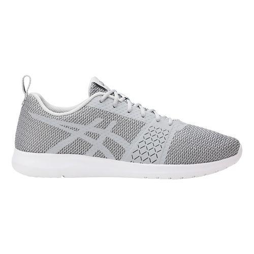 Mens ASICS Kanmei Casual Shoe - Grey/Carbon 7.5