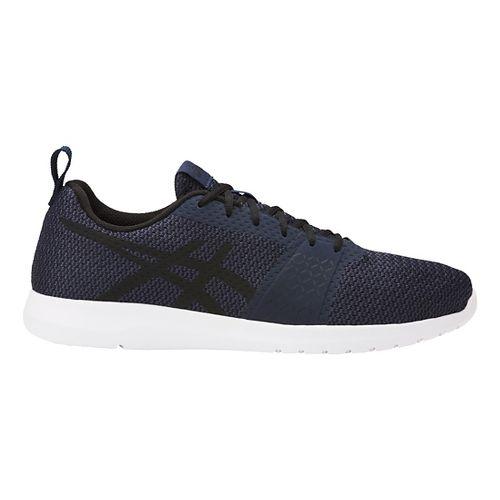 Mens ASICS Kanmei Casual Shoe - Navy/Black 11.5