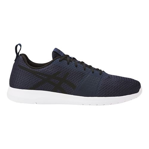 Mens ASICS Kanmei Casual Shoe - Navy/Black 12.5