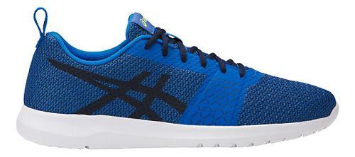 Mens ASICS Kanmei Casual Shoe - Blue/Black 7.5