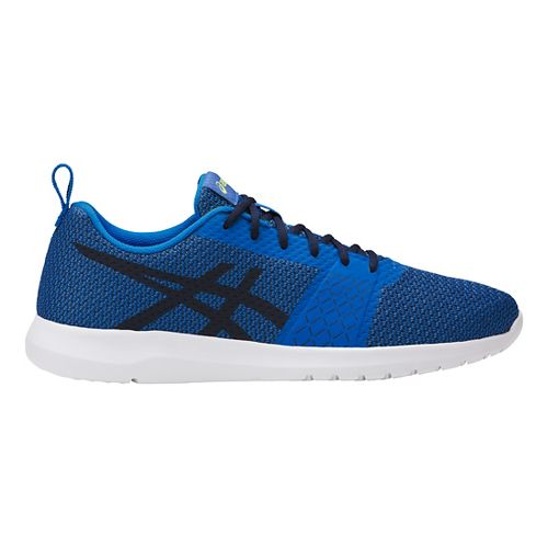 Mens ASICS Kanmei Casual Shoe - Blue/Black 9.5