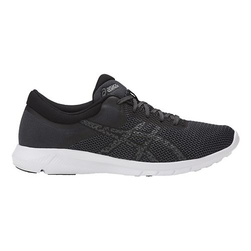 Mens ASICS Nitrofuze 2 Casual Shoe - Black/Carbon 15
