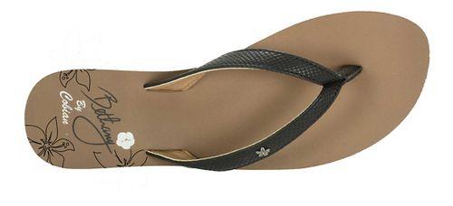 Womens Cobian Hanalei Sandals Shoe - Black 10