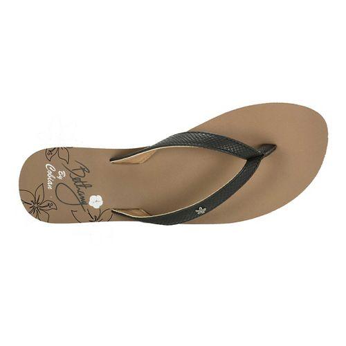 Womens Cobian Hanalei Sandals Shoe - Black 7