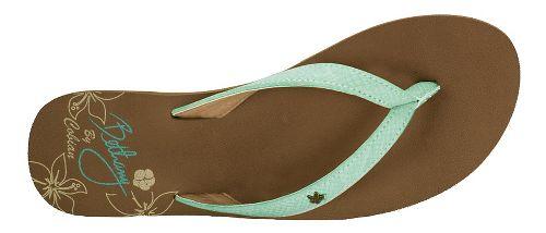 Womens Cobian Hanalei Sandals Shoe - Seafoam 6