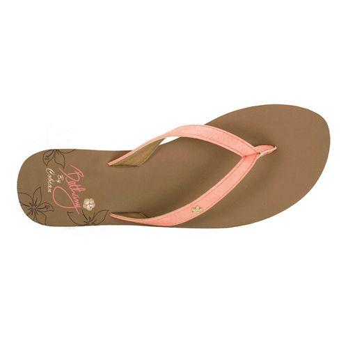 Womens Cobian Hanalei Sandals Shoe - Coral 6