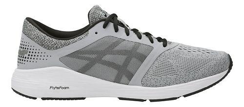 Mens ASICS Roadhawk FF Running Shoe - Grey/Black 13