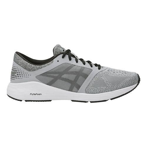 Mens ASICS Roadhawk FF Running Shoe - Grey/Black 15