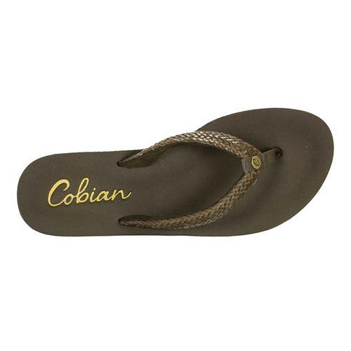 Womens Cobian Kezi Sandals Shoe - Chocolate 10