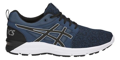 Mens ASICS Torrance Casual Shoe - Blue/Black/White 6.5