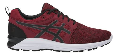 Mens ASICS Torrance Casual Shoe - Wine/Black 10.5