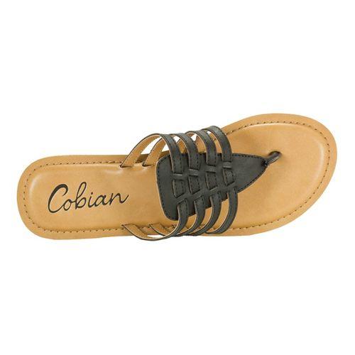 Womens Cobian La Paz Sandals Shoe - Black 9