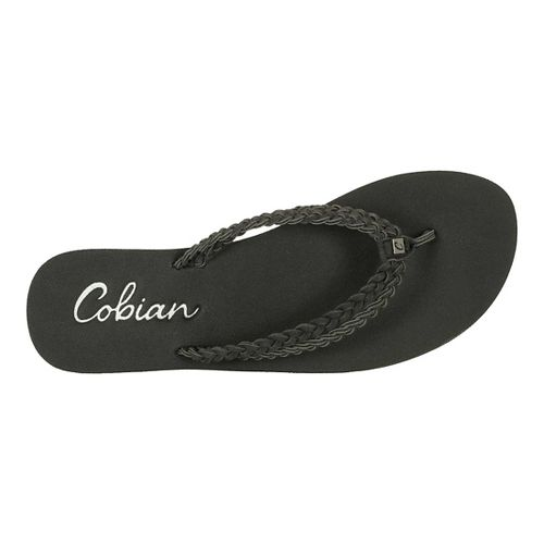 Womens Cobian Leucadia Sandals Shoe - Black 9
