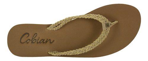 Womens Cobian Leucadia Sandals Shoe - Natural 8
