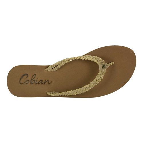 Womens Cobian Leucadia Sandals Shoe - Natural 6