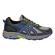 Kids ASICS GEL-Venture 6 Running Shoe - Grey/Blue 4Y