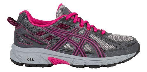 ASICS GEL-Venture 6 Running Shoe - Carbon/Pink 2Y