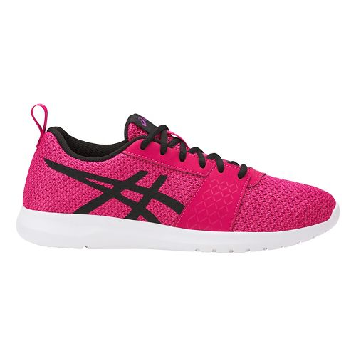 ASICS Kanmei Casual Shoe - Pink/Black 5.5Y