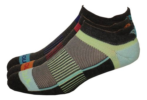 Saucony Inferno No Show Tab 9 Pack Socks - Assorted L