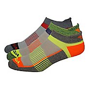 Saucony Inferno No Show Tab 9 Pack Socks - Assorted M
