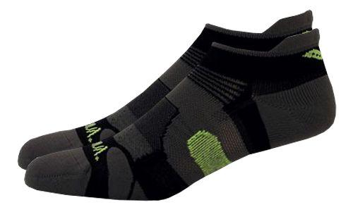 Saucony XP Light Cushion 6 Pack Socks - Black L