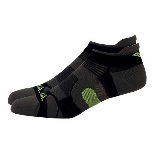 Saucony XP Light Cushion 6 Pack Socks - Black M
