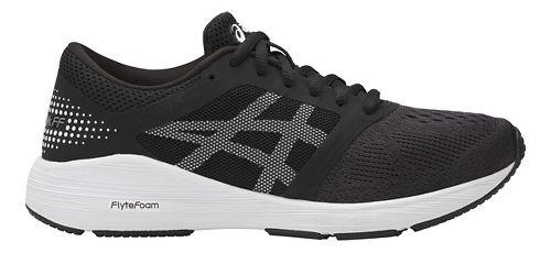 Kids ASICS Roadhawk FF Running Shoe - Black/White 4.5Y
